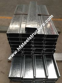 Hot Dipped Galvanized Steel Purlines Oleh Galvanizing Steel Strip Untuk Prefab House