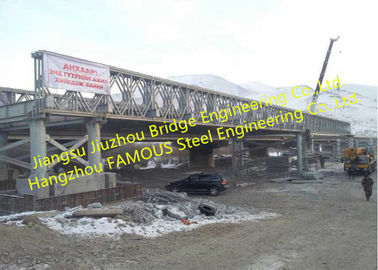 Cina Australia Standard Stable Fortified Medium Span Bailey Bridge Steel Bridge Truss Majelis Selandia Baru Bersertifikat pabrik