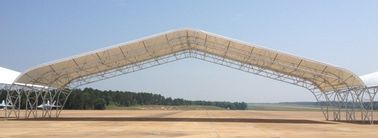 Pipa Baja Pracetak Truss Aircraft Hangar Buildings With Big Span