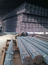 Tahan tinggi Memperkuat Steel Rebar / Mesh Prefabricated Buildings Kit